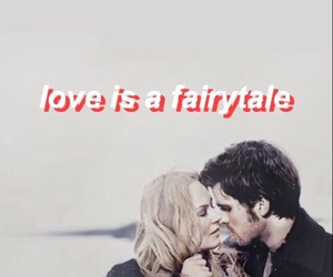 once upon a time, captainswan, and ️ouat image