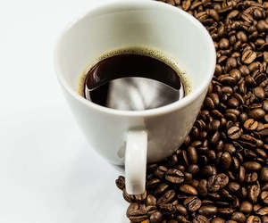 brown, cup, and coffee image