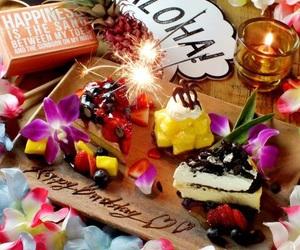 Aloha, birthday, and b'day image