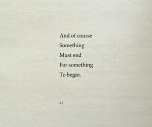 end, poem, and began image