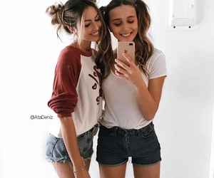 friends, friendship, and bff image