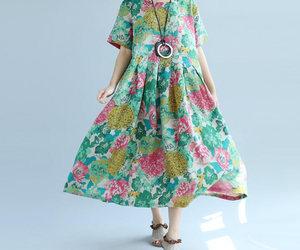 etsy, summer dress, and sundress image