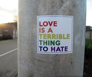 love, lgbt, and quotes image