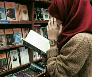 hijab and book image