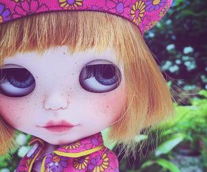 blythe, doll, and blythe ooak image