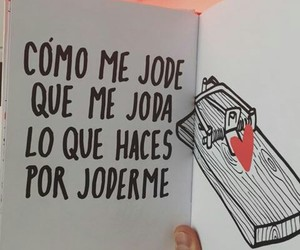 frases, libro, and joder image