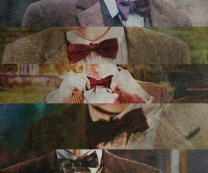 doctor who, matt smith, and bow ties image