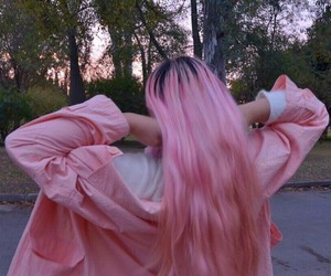 awesome, pinkhair, and hair image