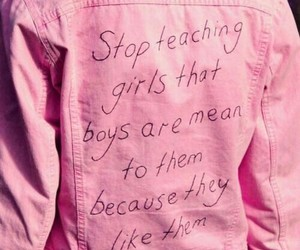 pink, quotes, and boy image