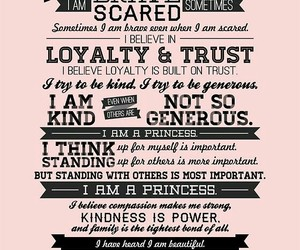 pink, princess, and quote image