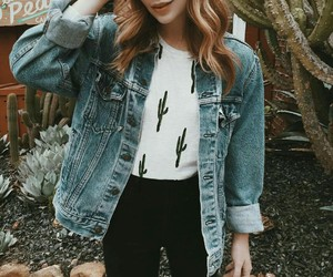 denim, hair, and outfits image
