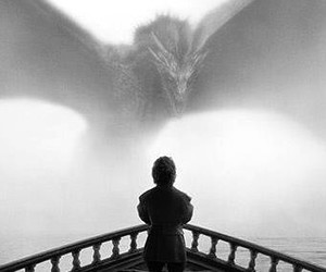 black and white and game of thrones image