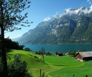 mountain and switzerland image