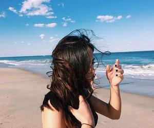 beach, summer, and vsco image