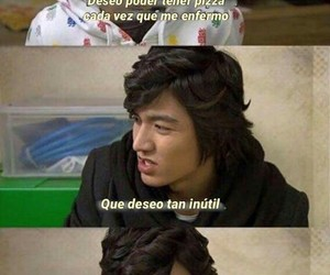 pizza, Boys Over Flowers, and funny image
