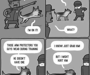 comic, dog, and funny image