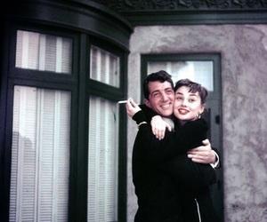 audrey hepburn, dean martin, and hug image