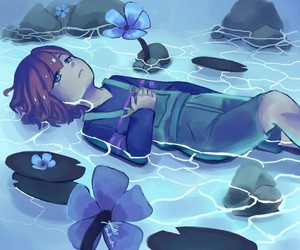 frisk and undertale image
