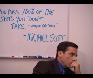 quote, the office, and michael scott image