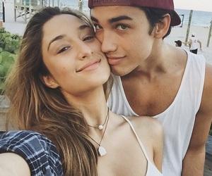 couple, love, and savannah montano image