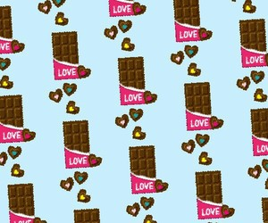 chocolate and pattern image