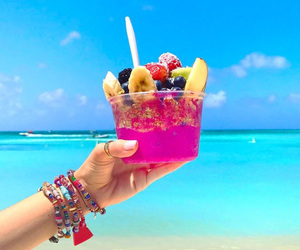 beach, FRUiTS, and summer image