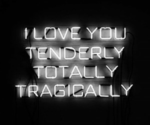quotes, love, and neon image