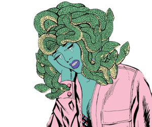 png, medusa, and overlay image