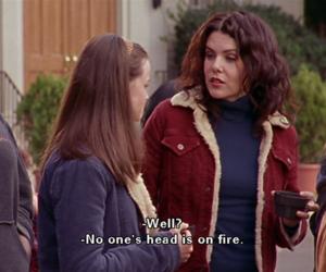 gilmore girls, Lauren Graham, and subtitles image