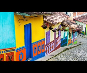 architecture, colombia, and town image