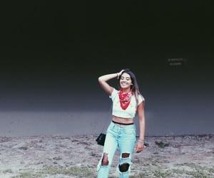 bandana, happy, and photography image
