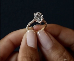 bride, ring, and wedding image