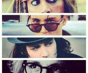 johnny depp and eyes image