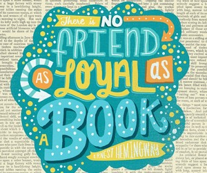 book, friend, and loyal image