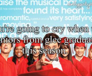 goodbye, glee, and graduation image