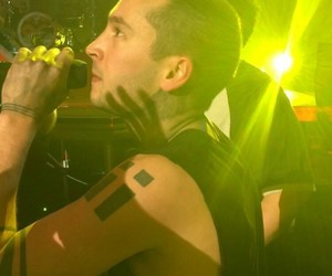 tyler joseph, concert, and yellow image