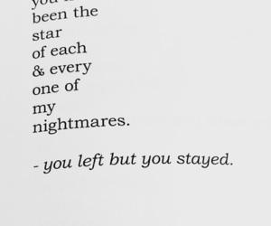 broken, heartbreak, and nightmares image