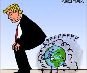 caricature, cartoon, and climate change image