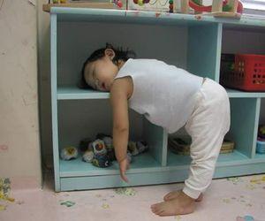 baby, sleep, and kids image