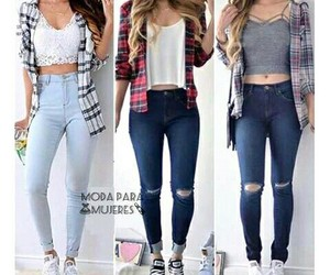 diva, fashion, and jeans image