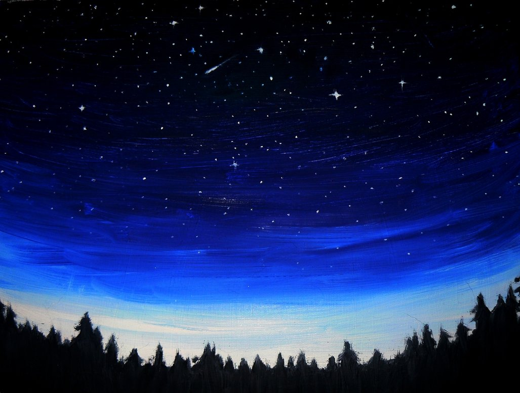 night sky by viera8 on deviantart on we heart it