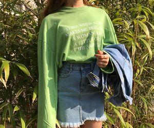 alternative, fashion, and green image