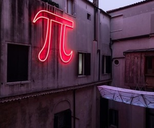 light, red, and pi image