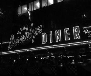 Brooklyn, diner, and new york image