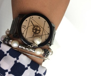 beauty, bracelet, and watch image