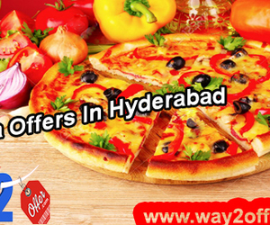pizza offers in hyderabad and pizza huts in hyderabad. image