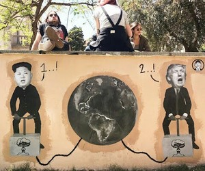 art, nuclear, and street art image