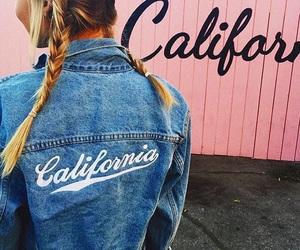girl, fashion, and california image