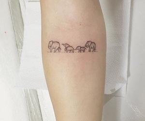 tattoo, elephant, and family image