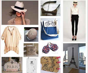 fashion, french, and paris image